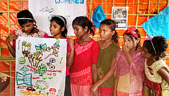 Art used as a tool to empower Rohingya...
