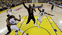 Warriors outlast Cavaliers to draw first...
