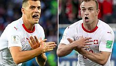 Fifa investigates Shaqiri, Xhaka...