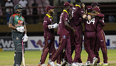 Hetmyer hundred as Windies level Bangladesh...