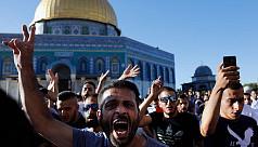 Israeli police raid al-Aqsa mosque after...