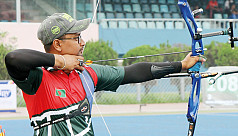 Archery team reaches quarters for the...