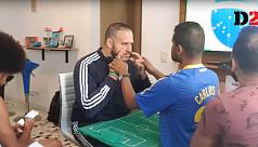 Deaf, blind Brazil fan follows World...