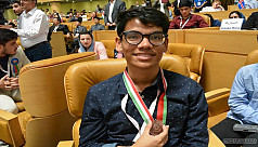 Bangladeshi student wins bronze at International...