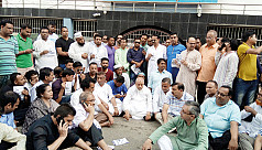 Sylhet BNP mayoral candidate protests...