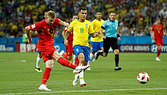 Belgium stun Brazil to lead 2-0 at...