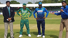Sri Lanka bat first against South Africa...