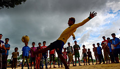World Cup fever still raging in Rohingya...
