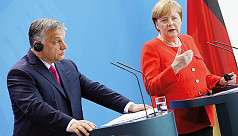 Merkel, Orban clash over EU values with...