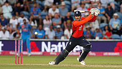 Hales keeps nerve as England square...