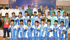 Quantum clinch handball league...