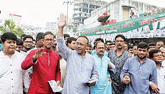 Campaign ends in Rajshahi with allegation...