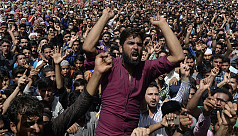 Indian army shoots dead three protesters...