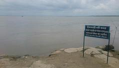 Brahmaputra water level on the rise again