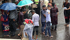 Rain continues to affect Dhaka