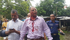 Amar Desh's Mahmudur Rahman attacked...