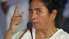 Mamata Banerjee begins sit-in protest...