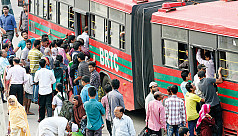 Colour-coded articulated buses to be introduced in Dhaka