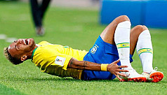 Injured Neymar sidelined for four...