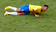Neymar admits exaggerated reactions...