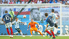 France's Pavard wins World Cup goal...