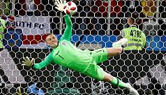 England World Cup penalty hero Pickford...