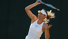 Sharapova knocked out of Wimbledon in...
