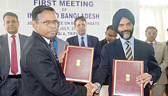 Bangladesh, India sign MoU for six border...