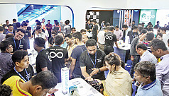 Smartphone, tab expo sees massive turnout...