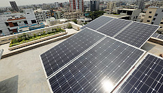 Power grid starts sourcing solar power...