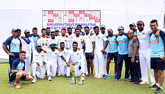 Bangladesh A surrender to innings...