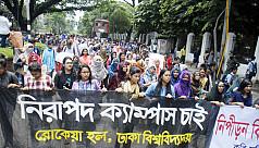 DU protesters announce class boycott