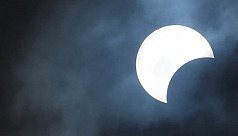 Partial eclipse of the sun on...