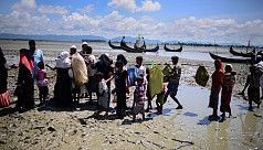 A year on, Rohingya still fleeing Myanmar...