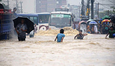 Heavy rainfall leaves Chittagong city...