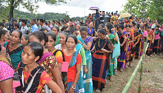 By-polls: Voting underway in Naniarchar upazila