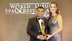 Westin Spa receives Best Luxury Business Hotel Spa in Asia Award