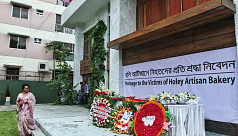 Dhaka cafe attack: Visitors pay tribute...