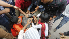 Quota reform activists attacked,...