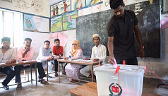 Counting begins after daylong vote in...