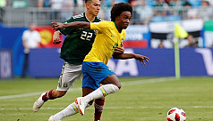 Willian wins praise from Brazil...