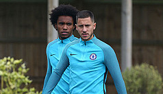 Willian aiming to send Hazard home