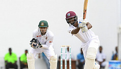 Windies in driving seat against...