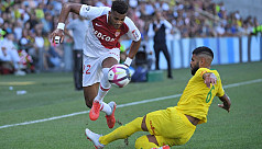 Monaco get off to winning start in Ligue...