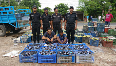 2 arrested with 2,086 bottles of phensedyl...