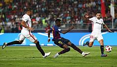 Barcelona fight back to win Spanish...