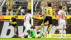Witsel scores on Bundesliga debut as...