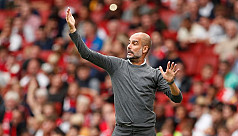 Guardiola hails good performance by...