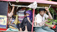 When will Rohingyas be returned?