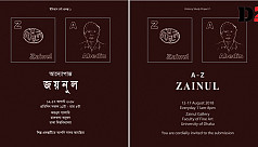 'A to Z Zainul' exhibit at DU Faculty of Fine Arts
